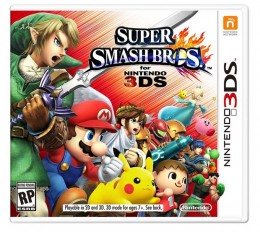 Super Smash Bros. Cover Art