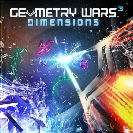 Geometry Wars³: Dimensions Cover Art
