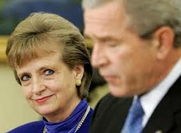 Harriet Miers with George W. Bush