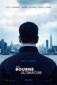 The Bourne Ultimatum Movie Poster