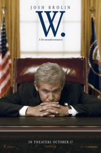 W. Movie Poster