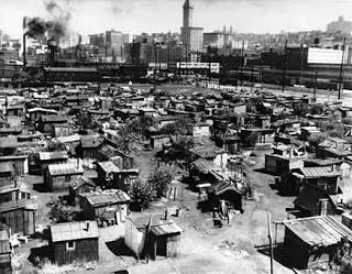 great depression hoovervilles
