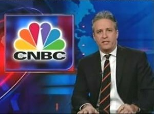 Jon Stewart Commenting on CNBC