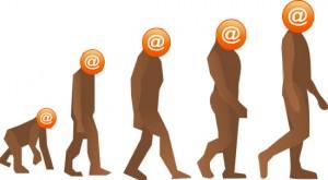 E-mail Evolution Picture