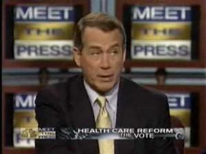 John Boehner On Meet The Press