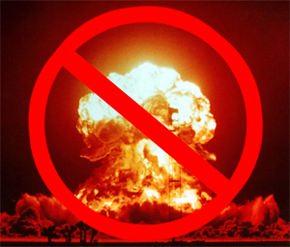 Nuclear Disarmament No Mushroom Cloud