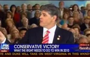 Sean Hannity At Reagan Library