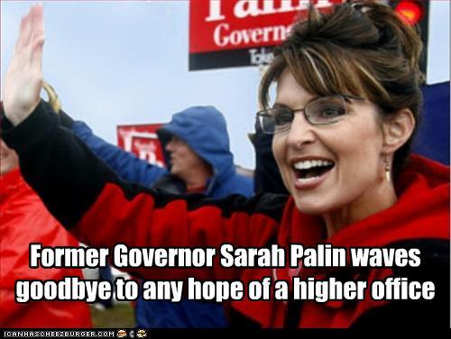 Sarah Palin Waving
