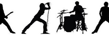 Rock Band Silouette