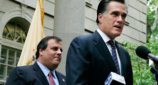 Mitt Romney And Chris Christie