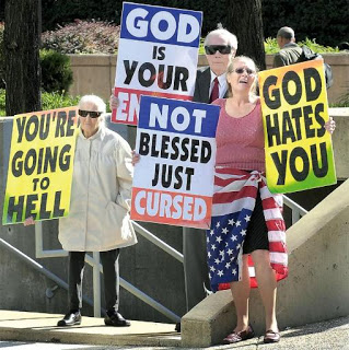 Pro Life Protesters.