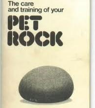 Pet Rock Owners Manual