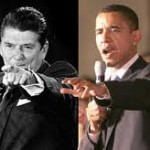 Reagan Obama Pointing