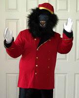 Dressy Gorilla Suit