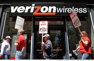 Verizon Wireless Protest