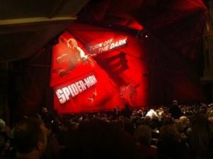 Spider-Man Musical Interior