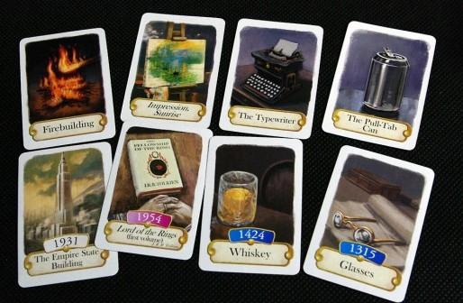 Timeline Cards (front)