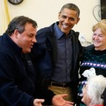 President Barack Obama and Governor Chris Christie