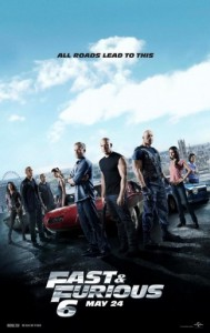 Fast & Furious 6 Movie Poster