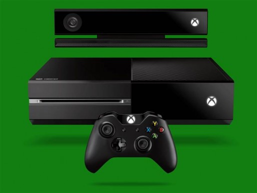The Xbox One, controller and Kinect