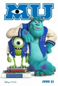 Monsters University Poster
