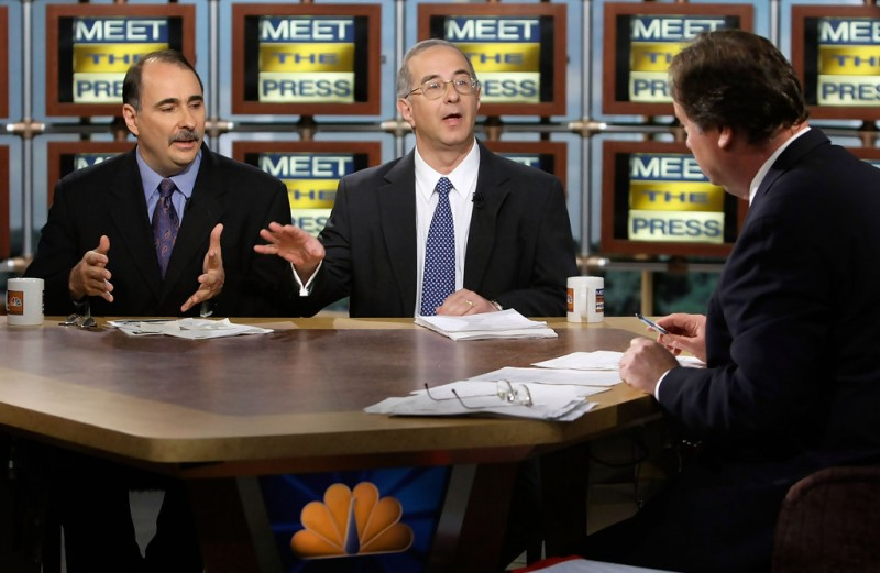David Axelrod on Meet the Press With Tim Russert