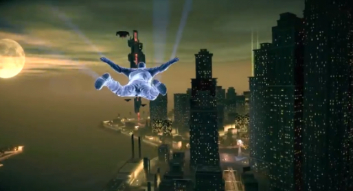 Gliding in Saints Row IV