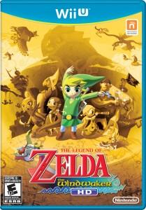 The Legend of Zelda: The Wind Waker HD Game Box