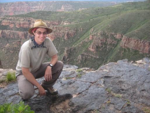 Adam Laing on site
