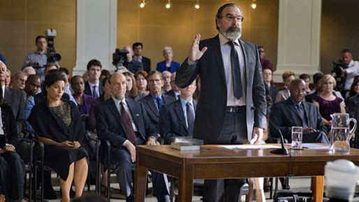 Mandy Patankin as Saul Berenson in the Homeland Season 3 Premiere