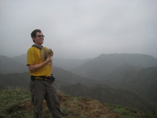Me enjoying the view in China