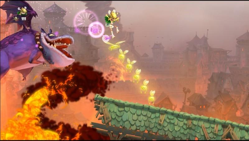 Rayman at Castle Rock
