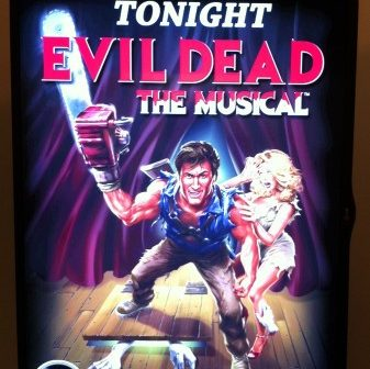 Evil Dead - The Musical Poster