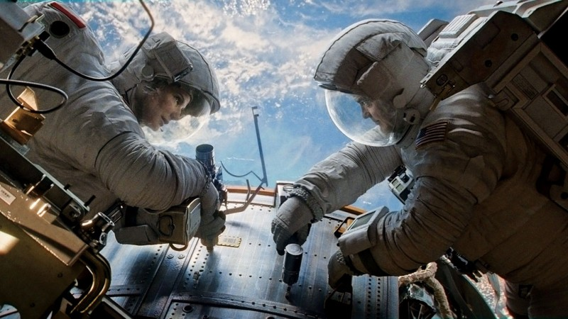 Gravity Movie Shot