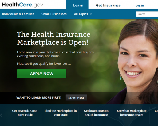 Healthcare.gov web site