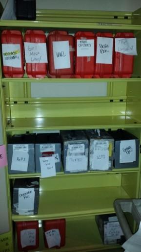 Shelves of digital films