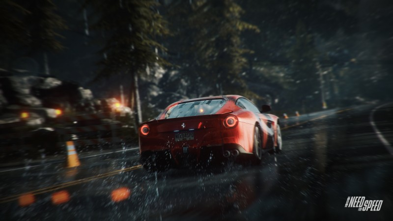 Weather effects in Need for Speed: Rivals