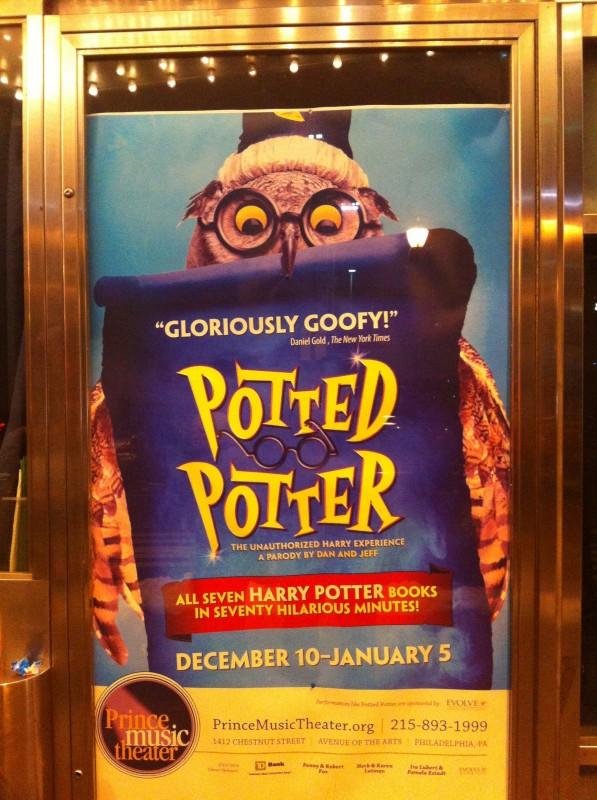 Potted Potter Theater Poster