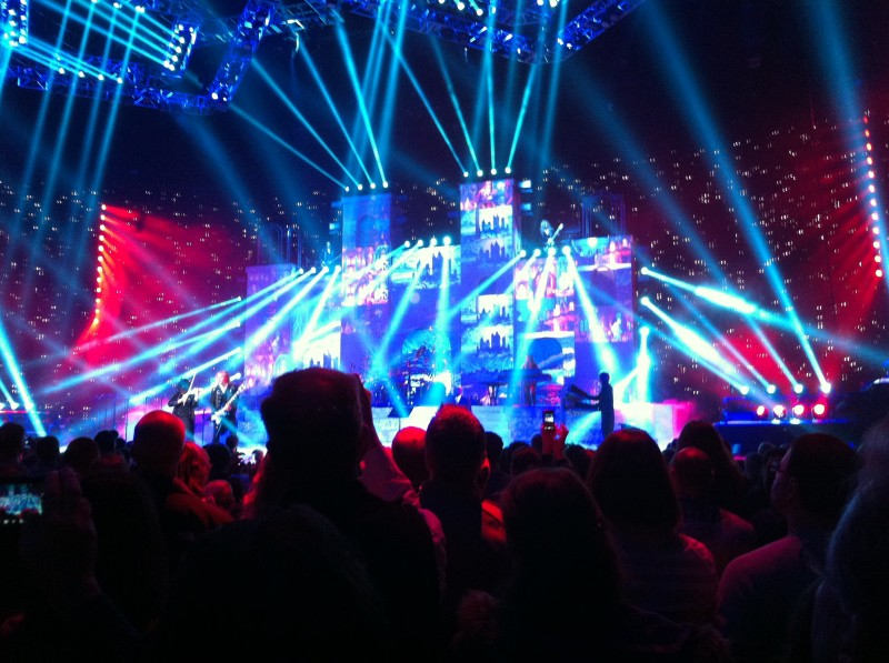 Trans-Siberian Orchestra Concert Shot