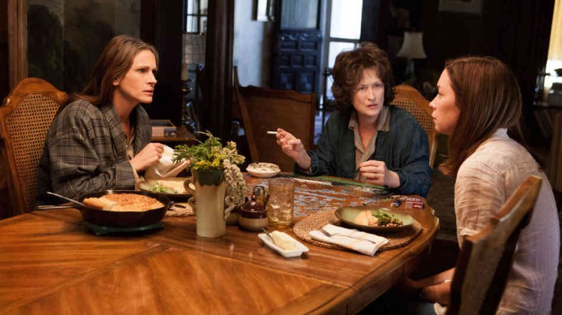 August: Osage County Movie Shot