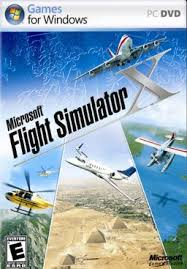 Flight Simulator X Cover Art