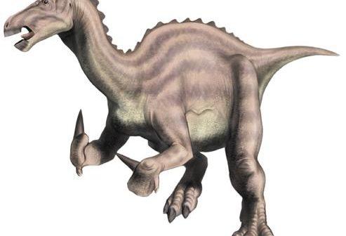 A more modern interpretation of Iguanodon