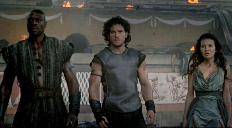 Pompeii Movie Shot