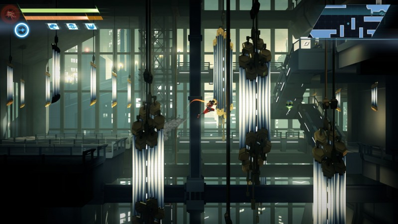 Detailed environments in Strider