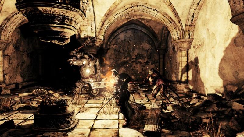 Dark Souls II dungeon