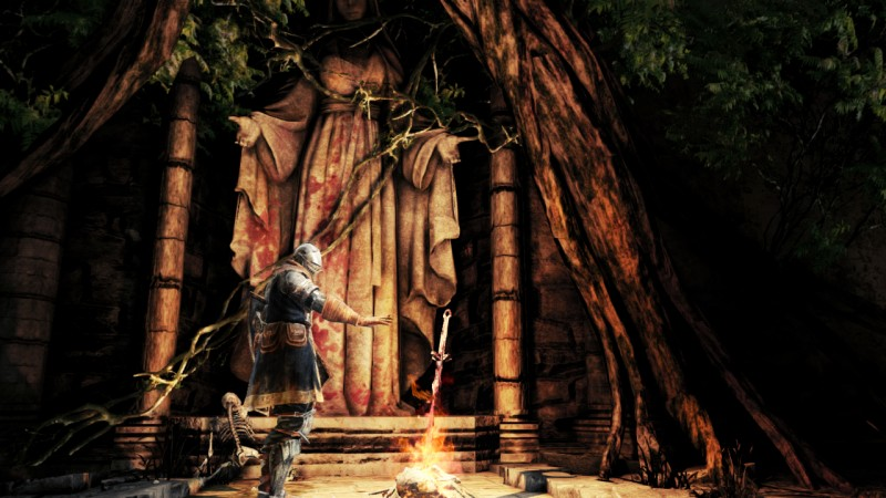 Dark Souls II bonfire refuge