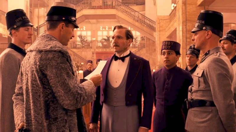 The Grand Budapest Hotel Movie Shot