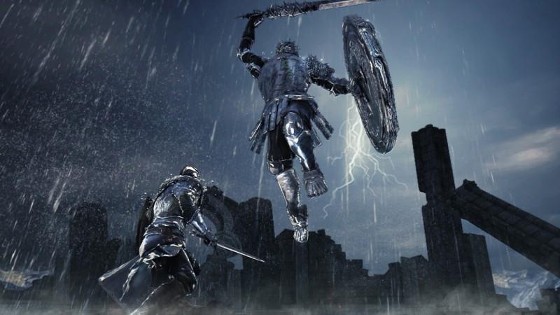 Dark Souls II Mirror Knight boss