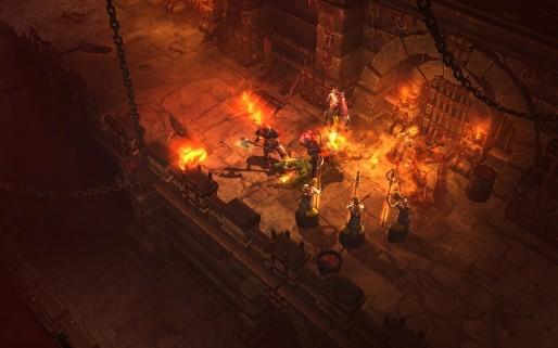 Fighting in Diablo III