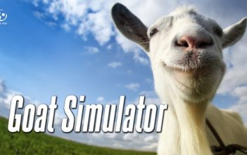 Goat Simulator Title Screen